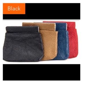 🎉3/$21🎉 Black Squeeze Coin Pouch